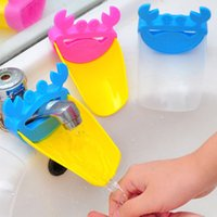 baby bathroom accessories - Baby Faucet Extender Washing Hands Faucets Kid Toddler Bathroom Accessories Sink Lovely Crab W1