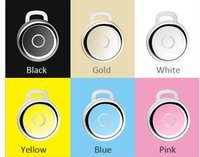 acoustic yellow - Q3 Bluetooth earphone Voice acoustic CSR4 Q3 wireless bluetooth headset mini general ears hanging stereo bluetooth ears For S5 S6 i5 i6