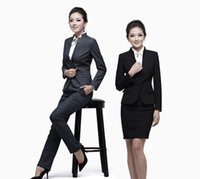 business suits - Ms business attire couture dress suit suit tooling female temperament fashion overalls interview during the spring and autumn