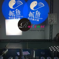 Wholesale Hot AC110 V W LED Spotlight Image Custom Gobo Slide Image Projector Light Wedding Advertising Logo Projection Lamps