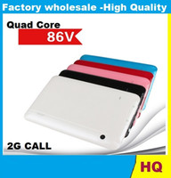 amd support - 7inch Quad Core tablet pc V support GSM G phone call allwinner A33 cellphone SIM slot M GB bluetooth Dual Camera Tablet PC