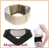 backache pain relief - 100ps CCA1941 Hot Magnetic Slimming Massager Belt Lower Back Support Waist Lumbar Brace Belt Strap Backache Pain Relief Health Care