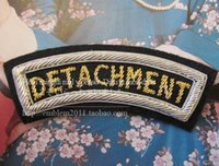 advance team - The advance team DETACHMENT CM armband badge of courage