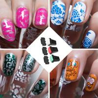 Wholesale Nail Art Stamping Plate Rubber Nail Art Image Plate Stamper Nail Art Accessory Manicure Tool