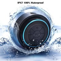 bath shower surrounds - Waterproof MINI Bluetooth Shower Speaker Wireless Dustproof Floating Bluetooth Lifetime Perfect for Pool Bath Car Beach