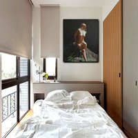 art freight - Up freight HOT SELL Sexy Nude Girl Art Painting Wall Decoration Oil Painting Print on Canvas