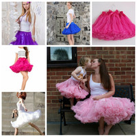 adult pettiskirts - 2015 Summer New cm Adult Tutu Dresses Women Short Tulle Skirt Party Pettiskirts Bridesmaid Underskirt Dress Plus Size Several Colors