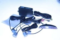 av options - car dvr Car LED Parking Sensor Monitor Auto Reverse Backup Radar Detector System LED Display Sensors colors options freeshipping