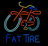 bicycle tire brands - Brand New Fat Tire Bicycle Glass Neon Sign Beer light