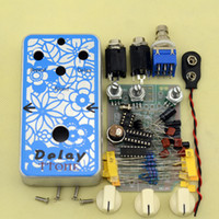 analog guitar effects - 2016 NEW DIY electric Guitar Delay analog Effect Pedals Electric pedal guitarra delay Suite Delay pedals Effect kits