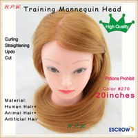 training manikins - Charlie s Angel female mannequin manikin head with mix hair quot cm for hairdresser curling straightening cut hair styling training
