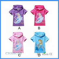 Cheap Girl Frozen T Shirt Best Summer Standard Frozen Summer dress