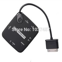 best card reader internal - Best price USB Hub Card Reader OTG Connection Kit for Samsung Galaxy Tab P7500 P7510 P7300