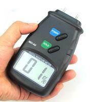 Wholesale Digital Wood Moisture Damp Detector Meter Tester Digital LCD Display Wood Moisture Meter Humidity Tester Hygrometer DDD2657