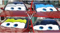 Wholesale Pixar Cars Lightning McQueen Front Car Windshield Sun shade x70cm