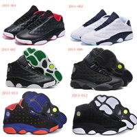 Wholesale 2015 New Top Quality J13 XIII mens basketball shoe Best Discount Genuine Leather Men Basketball Shoes Retro XIII sneake Us7