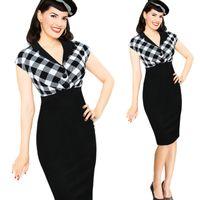 Cheap Wear to Work womrn dress Best Plus Size Dresses Summer dress