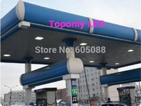 auto canopies - UL amp DLC listed w gas station led canopy light anti explosion led professional lights years warranty DHL free