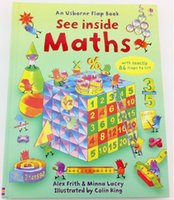 Wholesale Usborne Flap Book See Inside Maths With over flaps to lift Great Educational Toy For Kids