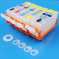 Wholesale compatible Refillable ink cartridge for BCI321 BCI320 cartridge CANON PIXUS iP3600 iP4600 MP540 MP620 MP630 MP980 MX860 MX870 printer