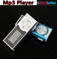 Wholesale Hot Sale Best Gifts Mini Clip MP3 Player LED Flashlight LCD Screen Digital mp3 Music Players Support TF Card Portable mini Mp3 player