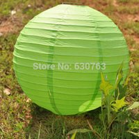 Wholesale quot cm event party supplies Chinese round hanging paper lanterns paper lamps for wedding decoration