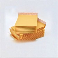 Wholesale 754pcs CCA1980 Hot Novelty Factory Price KRAFT Bubble Mailers Golden Kraft Bubble Mailers Padded Envelopes Air Bags MM inch