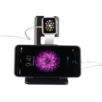 Wholesale 2015 hot Selling wireless Charging Holder Stand For iWatch Apple Watch Display Docking Station Desktop Charger