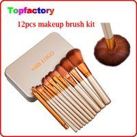 Cheap 12 PCS Makeup Brushes Set Best Facial Make up Brush Tools kit