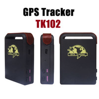 Wholesale Superior GPS Tracking TK102 Device Mini Spy Vehicle Realtime Portable GPS Tracker Car Vehicle Tracking Locator Device