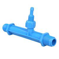 Wholesale New Arrival Blue Irrigation Venturi Fertilizer Mixer Injectors Agriculture Garden Water Tube Ozone Mixer Hot Tub HB88