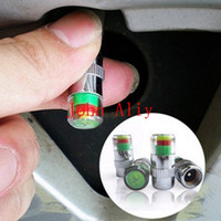 Wholesale Car PSI Tire Pressure Monitor System Caps Sensor Indicator Colors Eye Alert Tyres Accessories Cars