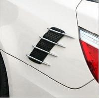 Wholesale Shark gills side vent hood decorative plating car body side vents false outlet OB
