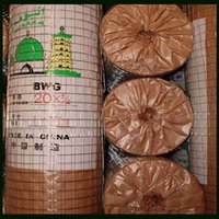 Wholesale 1 quot BWG20 Galvanized Or PVC Coated Welded Wire Mesh With Proof Paper Inside Packing and Plastic Outside