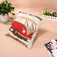 Wholesale Home Decor Cotton Linen Pillow Case Sofa Waist Throw Cushion Cover MTY3