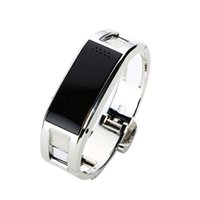 apple management - KDTi D8 Metal Smart Fashion Bracelet With Answering Phone Calls Sports Management Message Syncronization Pushing Notice Silver