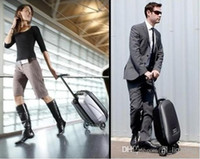 Wholesale 2015 fashion Suitcase Scooter Cabin Approved Travel Trolley in scooter luggage bag