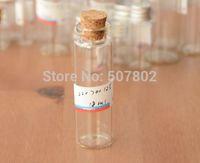 Cheap free shipping 150pcs lot 18ml(22*90*12.5mm) Cork glass vials ,Glass Bottles,bottle,glass jar, glass vials with cork