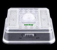 Wholesale 2015 New Auto PIR LEDs Light Silver Sensor Sensitivity Motion Detector Lamp for Home Puscard