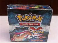 poke toys - Hot Selling Pokemon XY Phantom Forces Cards Box Bags Box New Poke Cards Pokemon Trading Card Game Children Cartoon Cards Toys Gifts