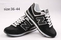 Wholesale 2014NEW BALANCE Hot sold New Balance man and woman breathable mesh movement Dropship Fashion shOeing size EUR36 EUR44