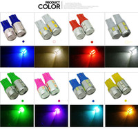 geo lens - Wholsale car styling T10 smd Led Car Light W5W Bulb clearance light turn wedge side parking lamp projector lens