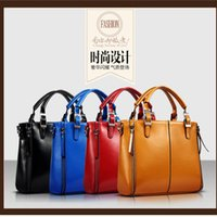 real leather designer handbags - luxury brand new women lady tote handbag designer lock fashion shoulder bag Women s Handbag real Leather Shoulder Bags Messenger Bag