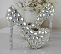 Cheap Round Toe Bridesmaid Shoes Best Stiletto Heel Women Platforms