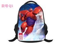 Wholesale Big Hero Pupils cartoon school bags children s backpack fashion backpack