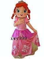 Cheap Details about NEW frozen Sofia Mascot Costume Princess Cartoon Suit Sophia Dress XMAS Birthday
