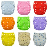 Wholesale 1 baby Reusable Nappy infant soft washable adjustable size diapers washable covers delivery Fraldas winter summer version