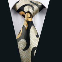 al por mayor marca de fábrica de seda de la corbata-Marca Hombres lazos de alta calidad corbata de seda clásico barato Corbata Lazos de la moda de oficina para los hombres de negocios corbatas D-1182