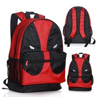 big backpacks for travel - 46 cm Hot Movie DEADPOOL School Backapack Canvas Student School Bag travel backpack Big Size For Children