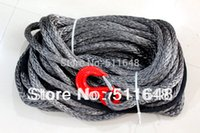 Wholesale 10MM M UHMWPE Braid Synthetic Winch Rope with HOOK Fairlead for WD ATV UTV SUV Winch